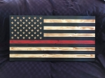 Thin Red Line American Flag